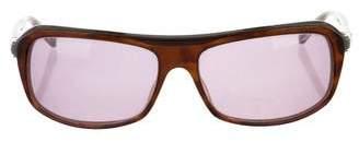 John Varvatos Tinted Oversize Sunglasses