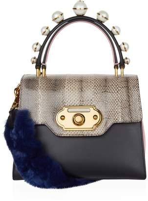 Dolce & Gabbana Welcome Top Handle Bag
