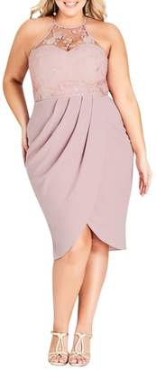 City Chic Lady Grace Dress