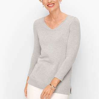 Talbots Double V Tie Back Sweater - Shimmer