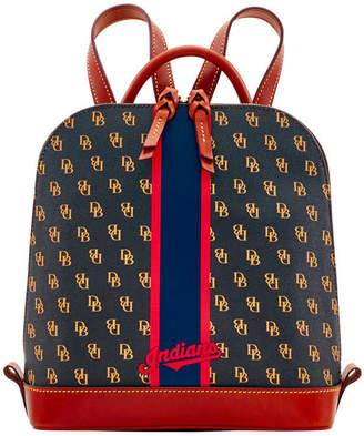 Dooney & Bourke Cleveland Indians Zip Pod Stadium Signature Backpack