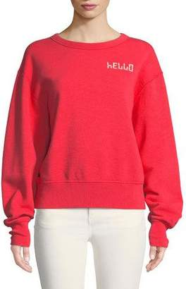 Rag & Bone Hello Terry Pullover Sweatshirt