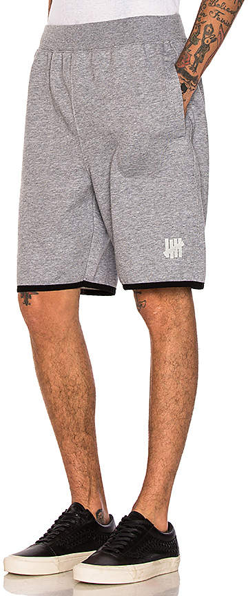 Undefeated Tech Fleece Short in Gray