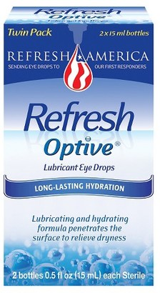 Refresh Optive Moisturizing Dry Eye Solution - 2 Count $16.79 thestylecure.com