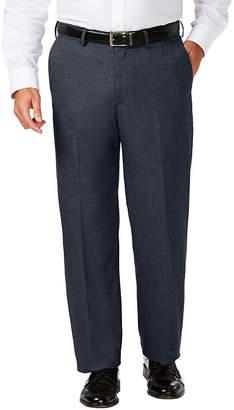 Haggar Jm Dress Pant Classic Fit Flat Front Pants-Big and Tall