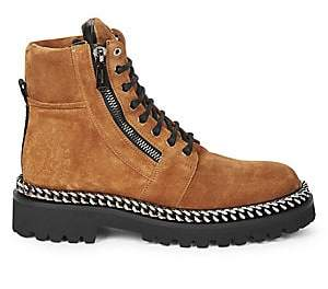 Balmain Men's Ranger Suede Boots