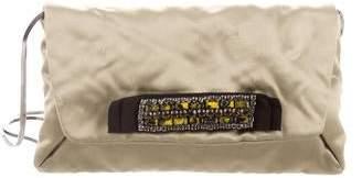 Lanvin Satin Shoulder Bag