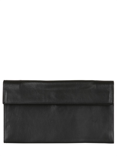 Maison Martin Margiela Matte Leather Foldable Clutch