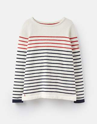 Joules Clothing 124828 Textured Breton Jumper