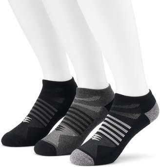 PowerSox Men's 3-Pack Tech Series AquaFx No-Show Socks