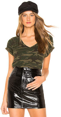 Sanctuary Camo V Neck Tee