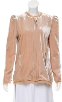LoveShackFancy Sienna Velvet Jacket