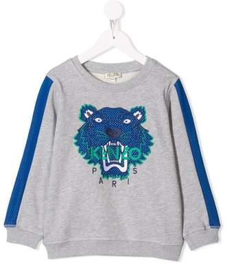 Kenzo Tiger print jersey sweater