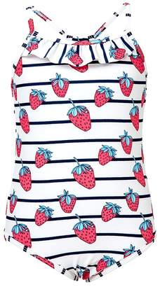 Snapper Rock Toddler Strawberry Classic One Piece
