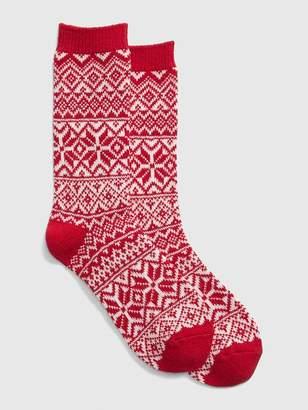 Gap Fair Isle Boot Socks