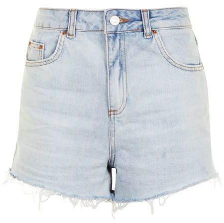 Topshop Topshop Moto highwaisted mom shorts