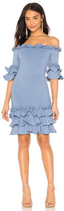 Donna Mizani Pishi Mini Dress