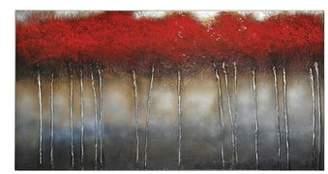 Ren Wil RENWIL Crimson Canvas Wall Art