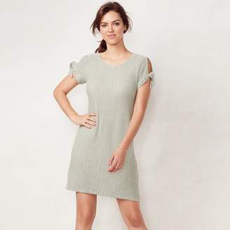 Lauren Conrad Women's Tie-Sleeve Swing Dress