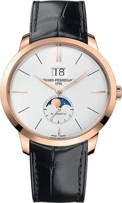 Girard Perregaux Girard-Perregaux 1966-49556-52-131-BB6C rose gold and leather automatic watch
