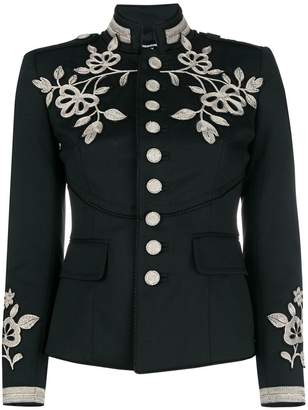 DSQUARED2 embroidered military jacket
