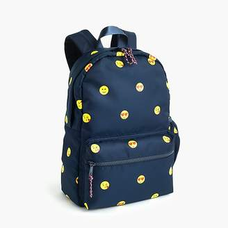 J.Crew Kids' emoji-print backpack
