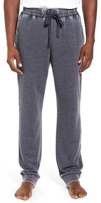 Men's Daniel Buchler Washed Cotton Blend Terry Lounge Pants $95 thestylecure.com