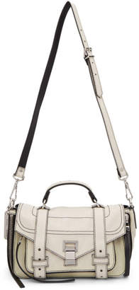 Proenza Schouler White PS1and Tiny Zip Messenger Bag