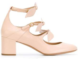 Chloé Mike leaf strap pumps