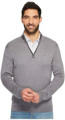 Calvin Klein Merino End on End 1/4 Zip Sweater Men's Sweater
