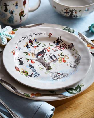 Juliska Twelve Days of Christmas Dessert/Salad Plate