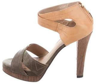 Elizabeth and James Eden Platform Sandals