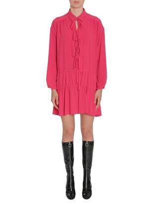 Moschino Crêpe Dress