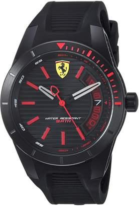 Ferrari Men's 830428 Sport Redrev T 3h 44mm Dial W. Red Accents Watch