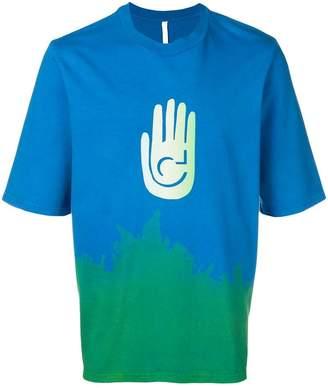 Cottweiler Cave dip-dye T-shirt