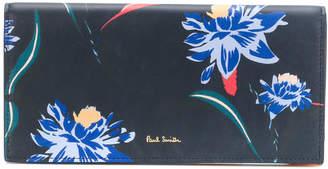 Paul Smith Pacific Rose print tri-fold purse