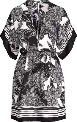 Ralph Lauren Floral-Print Tunic Cover-Up