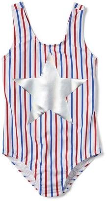 Americana stripe swim one-piece $29.95 thestylecure.com