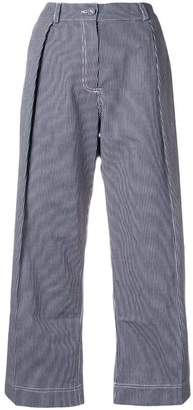 Peter Jensen regatta stripe pleated trousers