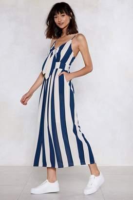 Nasty Gal If I Could Turn Back Line Striped Dress
