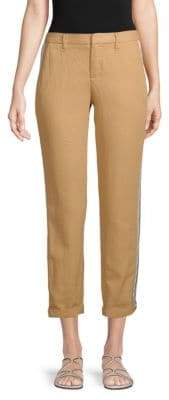 Zadig & Voltaire Pomelo Side-Striped Pants