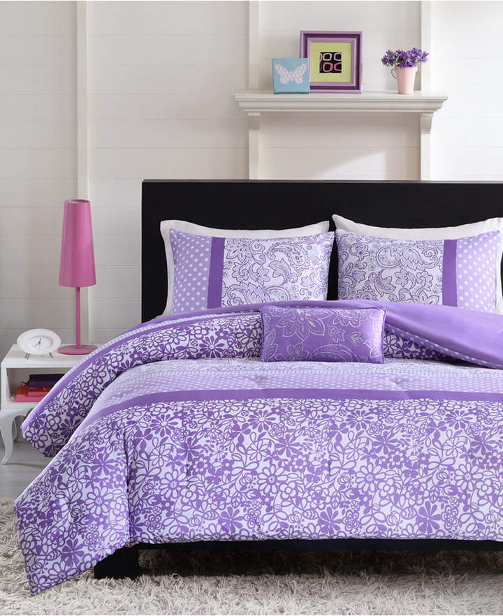 Mi Zone Riley 4-Pc. Full/Queen Comforter Set Bedding