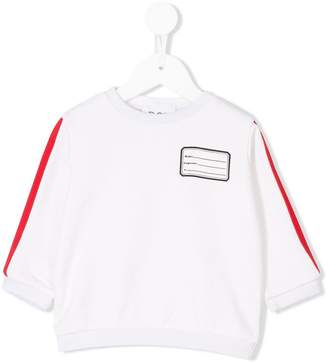 Douuod Kids contrast trim top