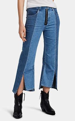 J Brand X KOZABURO Women's Pennylane Crop Flare Jeans - Blue