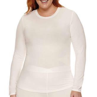 Cuddl Duds Softwear With Stretch Thermal Shirt-Plus