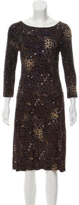 Tory Burch Printed Drop Waist Dress