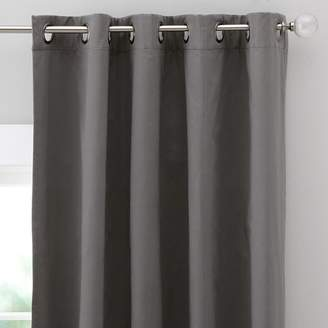 Pottery Barn Teen Classic Grommet Blackout Curtain, 63&quot, Gray