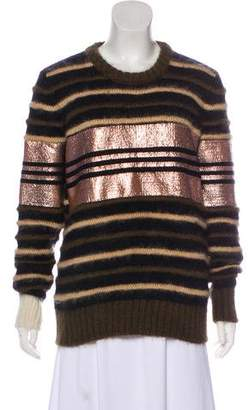 Givenchy Alpaca-Blend Striped Sweater
