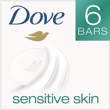Dove Beauty Bar Sensitive Skin