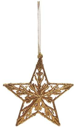 L'ge Unspecified Glitter Acrylic Star Decoration